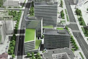 The Quadrum Business Center (Lithuania)